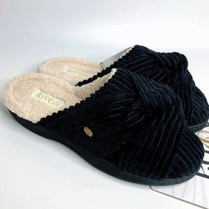Kooba Soft Terry Cloth House Slippers New